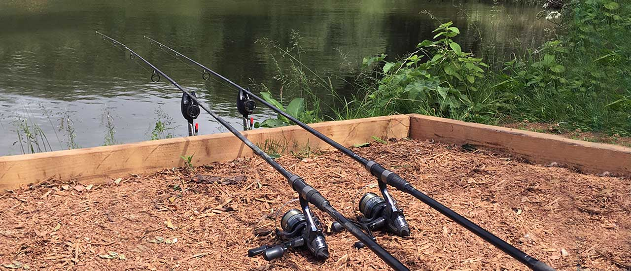 Bait and Tackle Shop at Luccombes Fishery